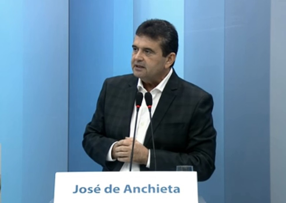 O ex-governador de Roraima José de Anchieta — Foto: Reprodução / G1