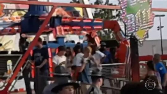Falha em brinquedo deixa um morto e sete feridos em uma feira em Ohio, nos EUA