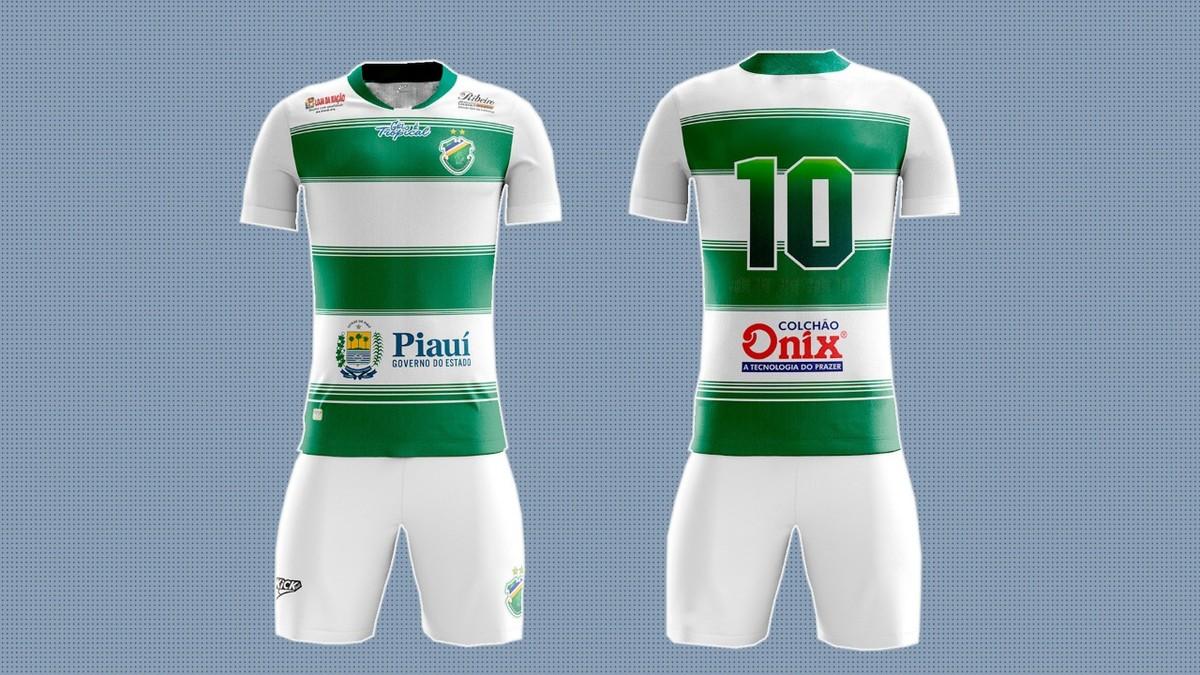 Altos divulga novo uniforme com novidades no design e brasão com duas  estrelas  veja  3b113824cd1d7
