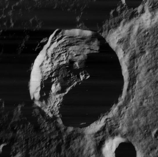 Cratera da Lua batizada de Anaxágoras em homenagem ao grego (Foto: Wikimedia Commons)