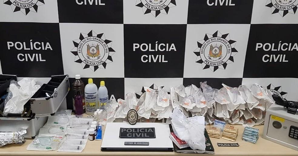 Polícia Civil descobre clínica de aborto em Novo Hamburgo e prende três pessoas - Notícias - Plantão Diário
