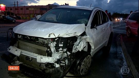 Médica bêbada provoca sequência de graves acidentes de trânsito em Campinas (SP)