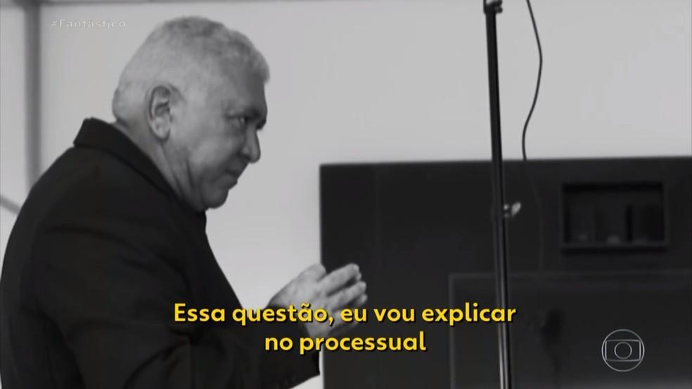 Advogado Gustavo Santos Simeão — Foto: Reprodução/TV Globo