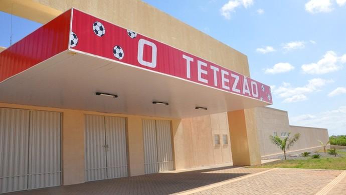 Tetezão estádio Caraúbas (Foto: Divulgação)