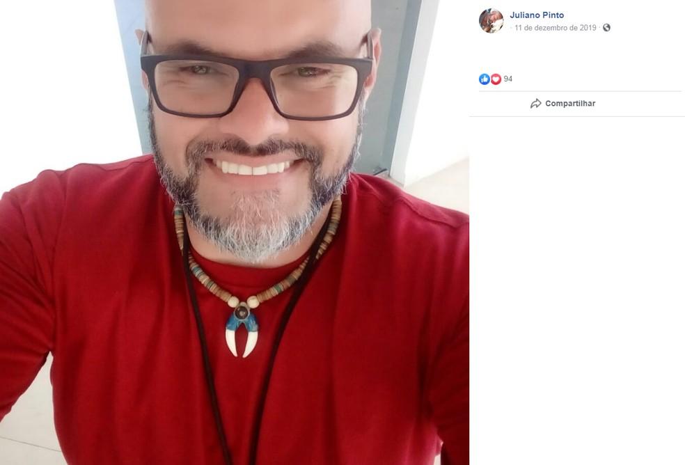 Juliano Pinto, de 45 anos — Foto: Reprodução/Facebook