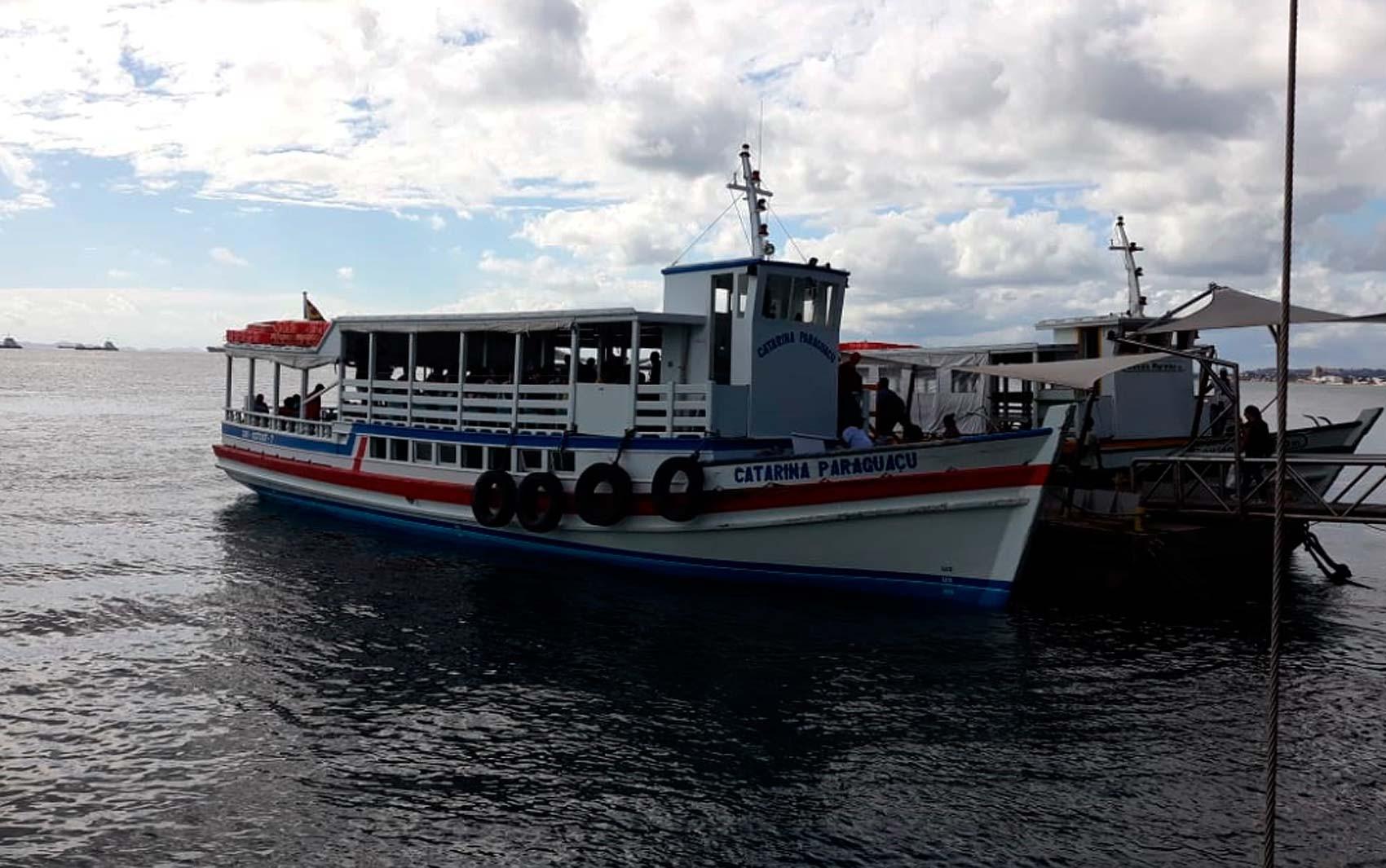 Travessia Salvador-Mar Grande retoma horários das viagens a cada 30 minutos; confira