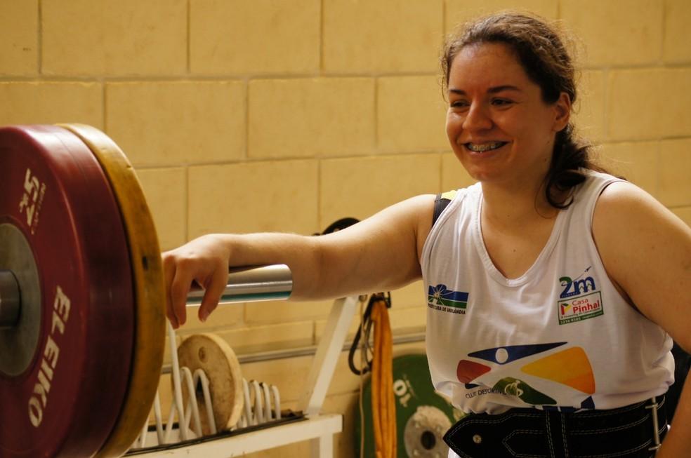 Amanda Sousa foi convocada para o Parapan de Lima, no fim de agosto — Foto: Cíntia Sousa