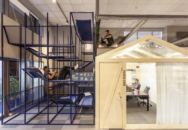Saem as salas e áreas divididas, entram os espaços integrados e variados (Foto: Ricardo Bassetti)