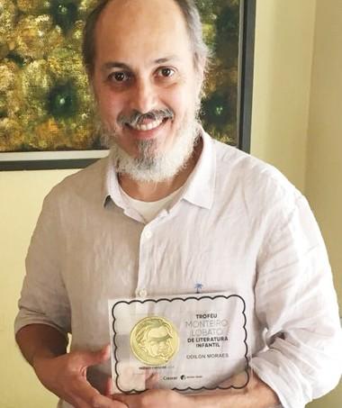 Odilon foi o vencedor do Troféu em 2018 (Foto: Crescer)