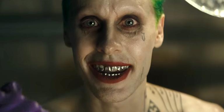 Jared Leto como Coringa em Esquadrão Suicida (Foto: Divulgação)