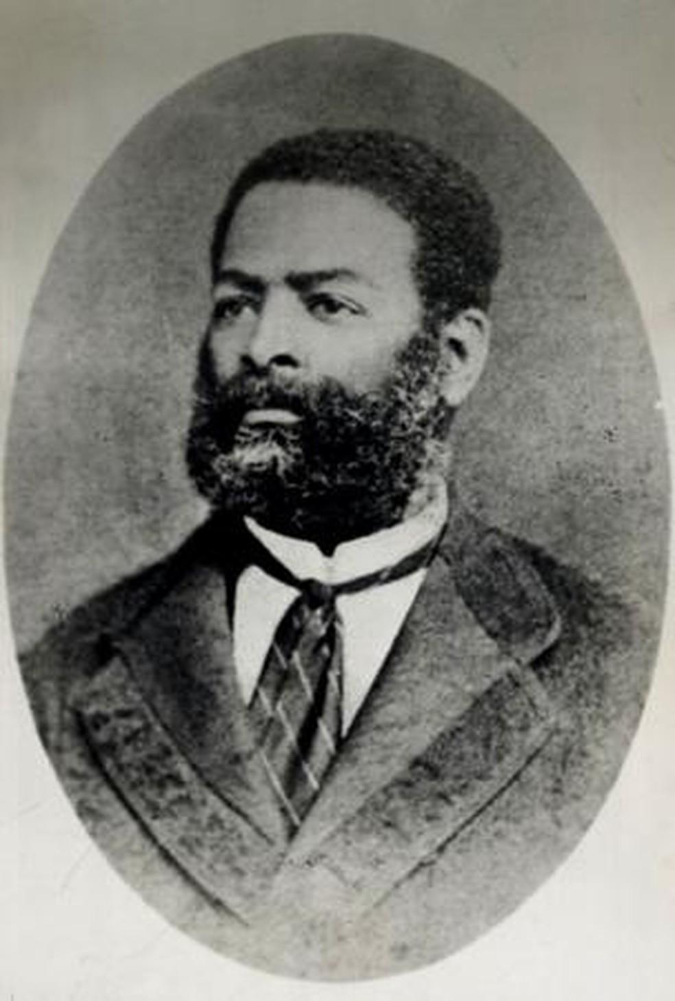 Calcula-se que Luís Gama tenha ajudado a libertar cerca de 500 escravos — Foto: Acervo Biblioteca Nacional - Brasil