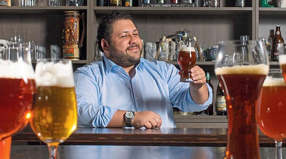 Carlo Bressiani, da Escola Superior de Cerveja e Malte: Índia e África do Sul são os próximos destinos (Foto: Divulgação)