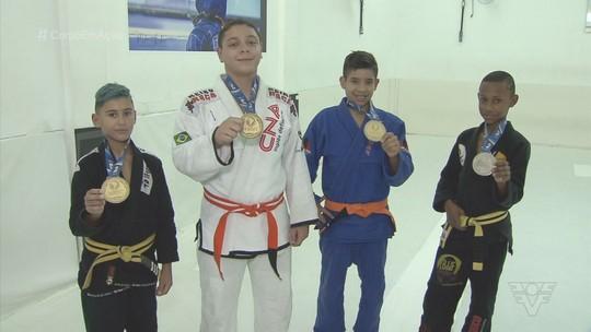 Jovens da Baixada Santista conquistam medalhas no Sul-Americano de jiu-jitsu