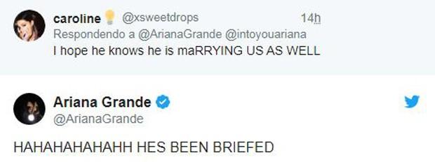 Ariana Grande no Twitter (Foto: Reprodução/Twitter)