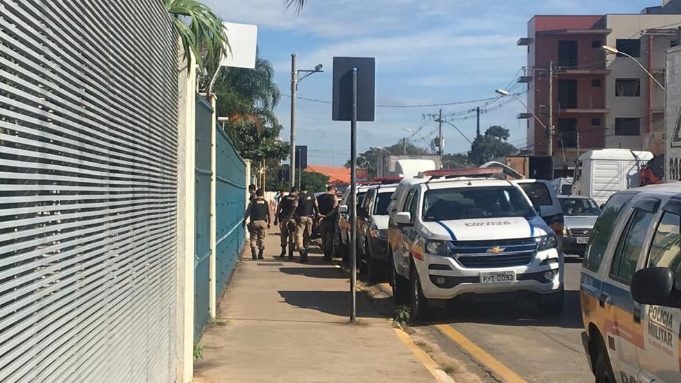 Operação Octupus teve primeira fase em abril, quando um empresário foi preso em Lavras (MG)  — Foto: Gabriela Prado/EPTV
