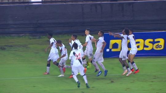 Os gols de Vasco 5 x 1 Oeste pela Copa do Brasil Sub-17