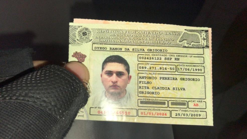 Policial militar Dyego Ramon da Silva Grigorio é morto a tiros em Mossoró — Foto: Cedida