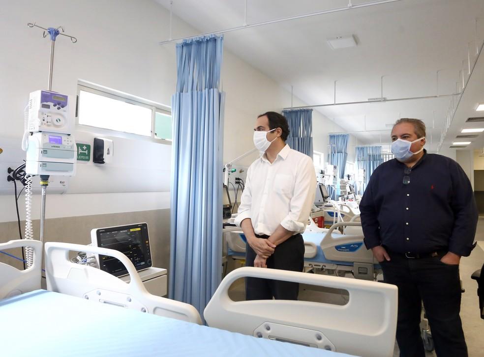 Pernambuco anuncia mais 84 leitos para tratamento de pacientes com a Covid-19 | Pernambuco | G1