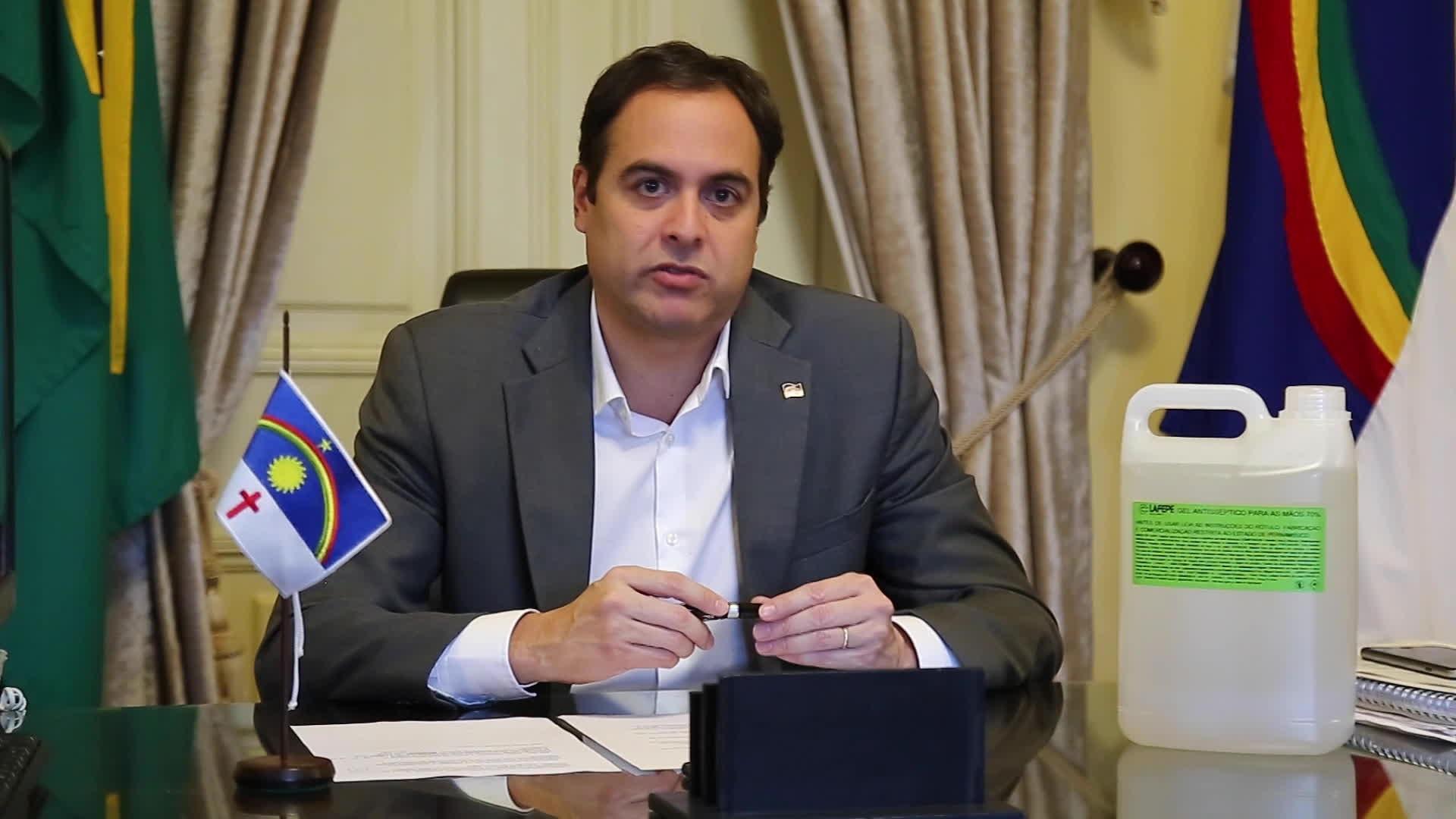 PE prorroga fechamento de praias e parques e anuncia pensão para famílias de servidores que morrerem com coronavírus