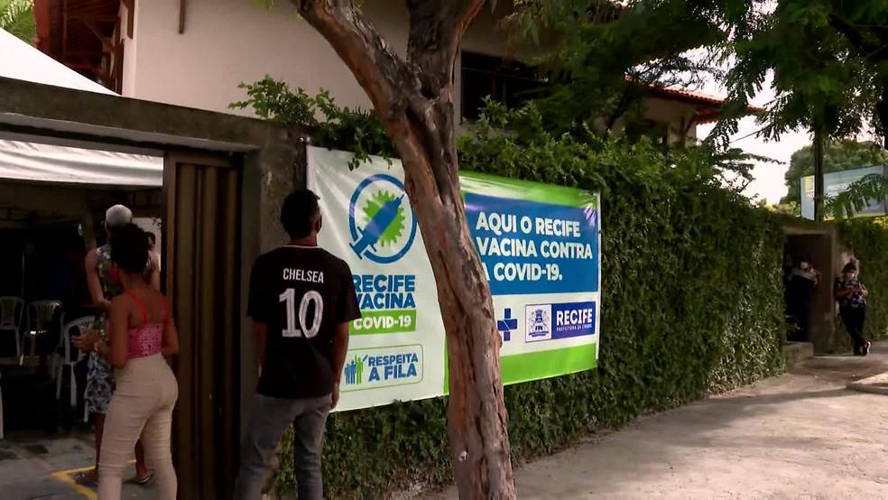 Unidade de Cuidados Integrais (Ucis) Guilherme Abath, no bairro do Hipódromo, na Zona Norte do Recife — Foto: Reprodução/TV Globo