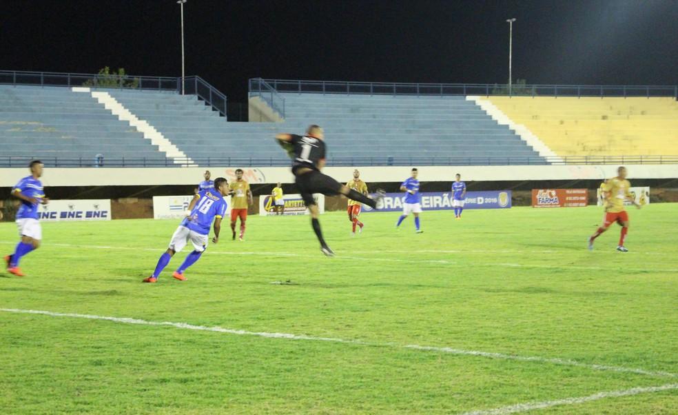 Estádio Nilton Santos, em Palmas — Foto: Cyntia Miranda/GloboEsporte.com
