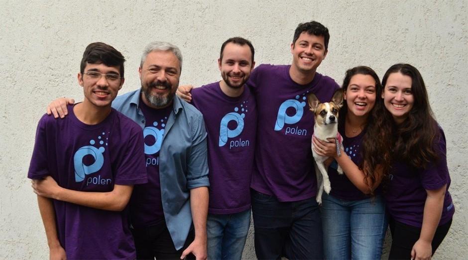 Integrantes da startup Polen (Foto: Divulgação )
