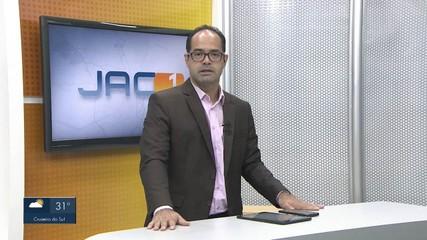 VÍDEOS: Jornal do Acre 1ª edição - AC desta segunda-feira, 26 de julho