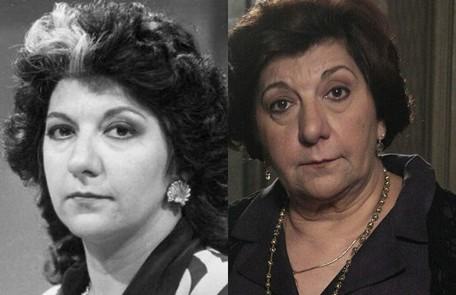 Jandira Martini interpretou a megera Teodora Abdala, mulher de Aparício (Paulo Autran). O último trabalho na TV foi na série do Warner 'Manual para se defender de aliens, ninjas e zumbis' Reprodução e Alex Carvalho/TV Globo