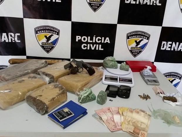 Droga foi apreendida na região norte em Palmas (Foto: Divulgação/SSP TO)