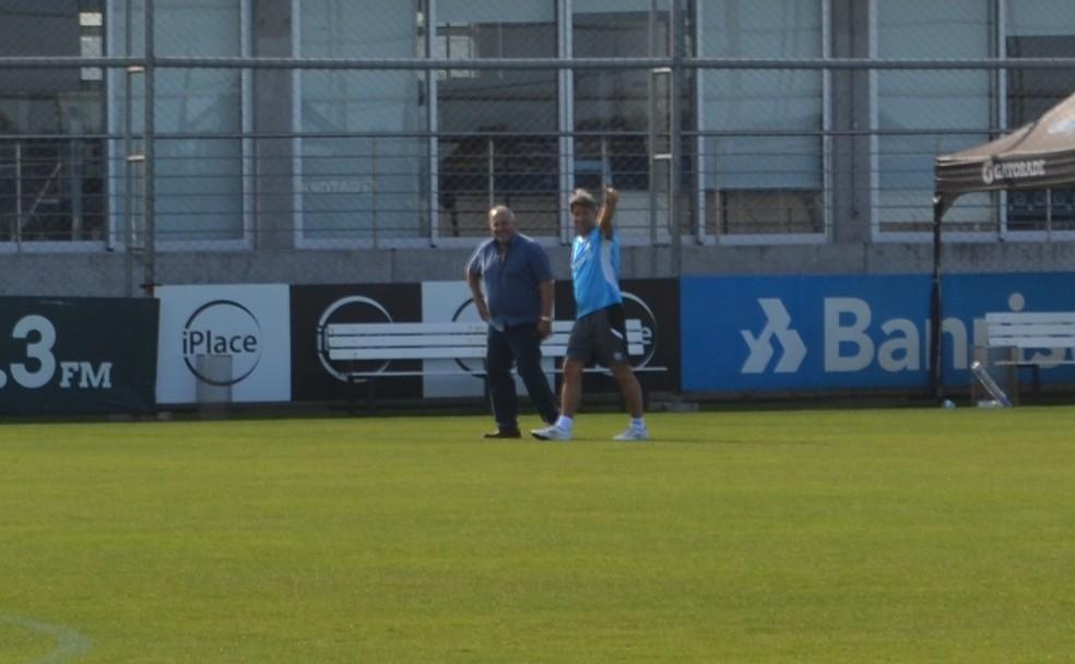 Renato Gaúcho busca conquistar o Mundial como técnico do Grêmio (Foto: Tomás Hammes)