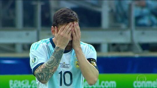 Argentina empata com Paraguai e se complica no grupo B da Copa América