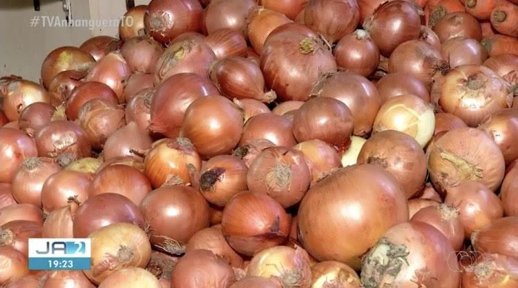 Preço do alho e da cebola sobe nos supermercados e feiras de Palmas