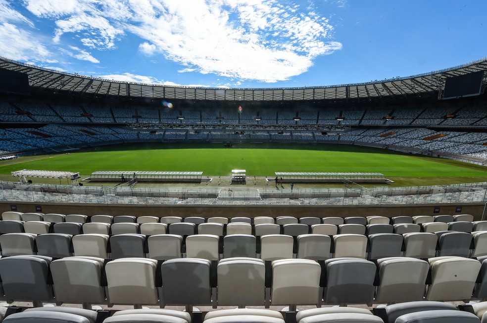 Por causa da pandemia, estádios não terão a presença de torcedores na reta final do Campeonato Mineiro — Foto: Divulgação/Mineirão