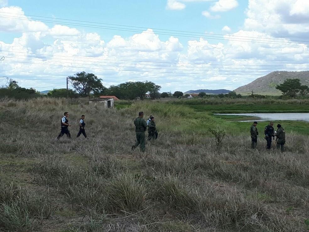 Polícia prende três homens suspeitos de invadir o Fórum de Maranguape, no Ceará (Foto: Divulgação/Ciopaer)
