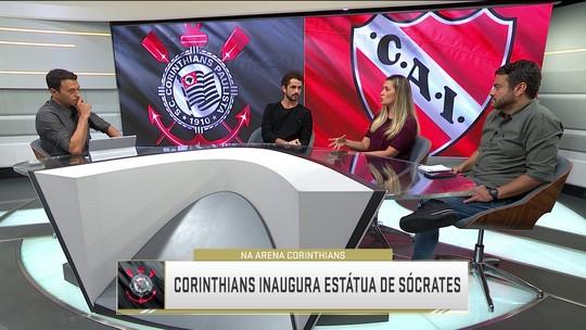 Rizek critica veto da Conmebol à homenagem do Corinthians a Sócrates