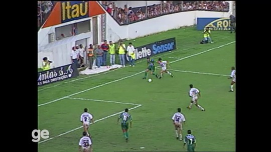 Não será na Vila, mas... Palmeiras revê Santos no aniversário de 22 anos do 6 a 0