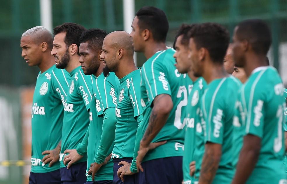 Força do elenco do Palmeiras contribui para fase invicta no Brasileirão — Foto: César Greco/Ag. Palmeiras