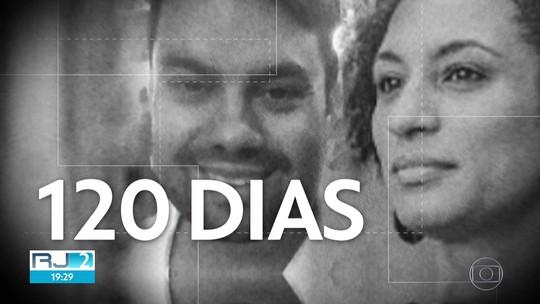 Mortes de Marielle e Anderson completam 120 dias com ato no Centro do Rio