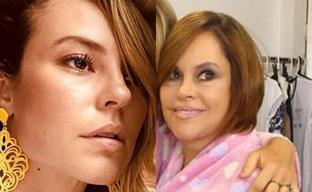 Paolla Oliveira e a mãe, Daniele  (Foto: Reprodução/Instagram)