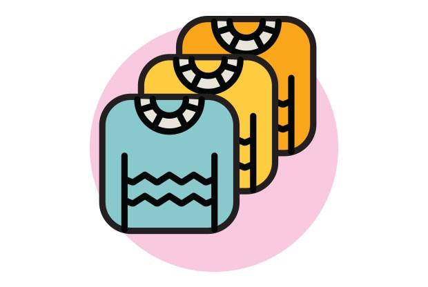6. Degradê | Ver as roupas de seu filho alinhadas é um consolo e tanto em dias caóticos. Para dar um toque especial à arrumação, organize as peças em degradê, ou seja, dos tons mais claros para os escuros. Além de oferecer uma experiência visual agradável (Foto: Divulgação)