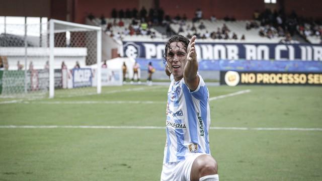 Nicolas acertou o ângulo no gol marcado para o Paysandu