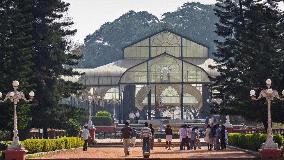 Os Jardins Botânicos de Lalbagh são um tesouro em uma das cidades que crescem mais rapidamente na Ásia (Foto: Mariellen Ward)