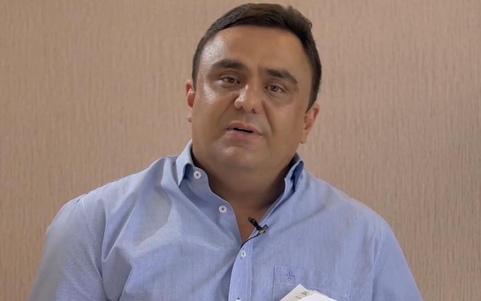 Prefeito de Luziânia, Cristóvão Tormin é investigado por crimes sexuais — Foto: Reprodução