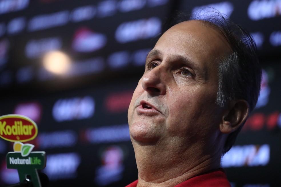 Carlos Noval será mantido como diretor executivo do Flamengo na nova gestão — Foto: Gilvan de Souza / Flamengo