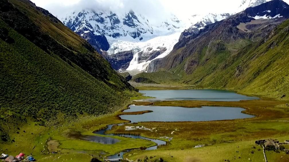 Montanhas do Peru — Foto: Arquivo TG