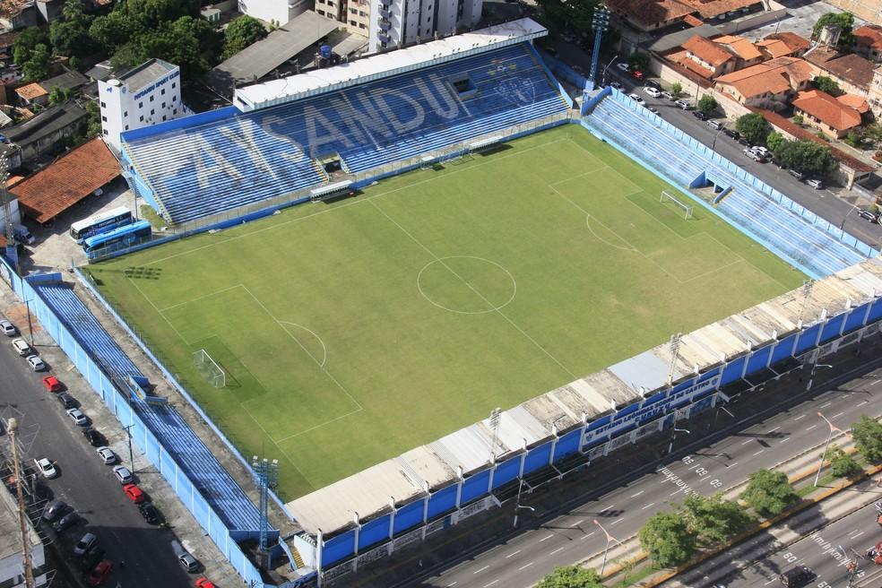 Jogo contra o CRB será realizado no Estádio da Curuzu (Foto: Marcelo Seabra/O Liberal)