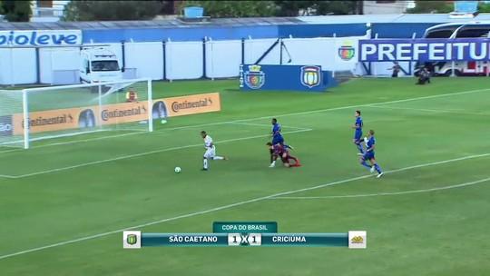 Criciúma empata com São Caetano e avança na Copa do Brasil