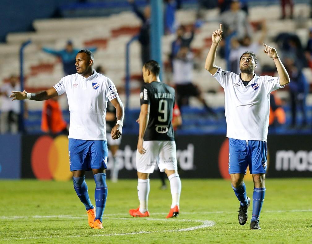 Nacional-URU se classificou no grupo que tinha o Atlético-MG — Foto: REUTERS/Andres Stapff