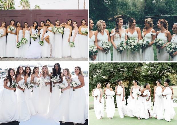 All white wedding (Foto: Reprodução/Instagram)