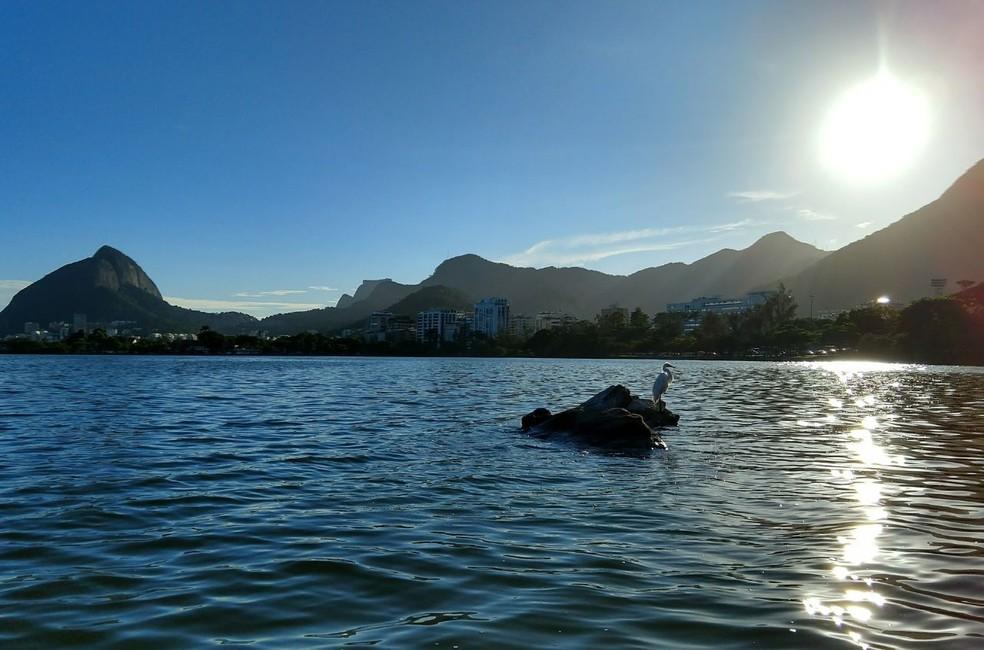 Um dia de outono no Rio de Janeiro — Foto: Marcos Serra Lima/G1